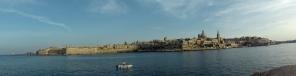 valletta panorama from sliema